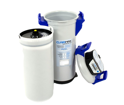 ion exchnage resin cartridge | replacement resin cartridge | ion exchange filling device | chemicall free water treatment | chemical free filling device | VDI 2035 | VDI2035 UK | Clarimax | elexion | elector UK