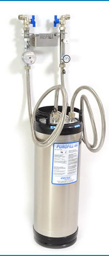 Purofill | Refill | Elector UK | VDI 2035 UK | Demineralised water | deioinsed water | demi water | mix bed resin | chemcila free water treatment