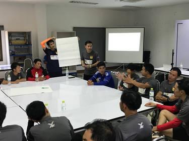 FIM Coaches bei der Ausbildung