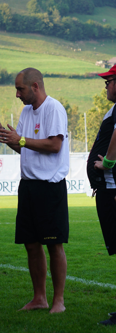 Teambesprechung FC Lugano
