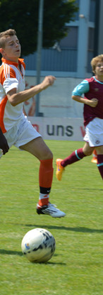 Spielszene U15 Westham United