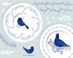 ELLA_ELRON-BREITMAN_birds decorated plat