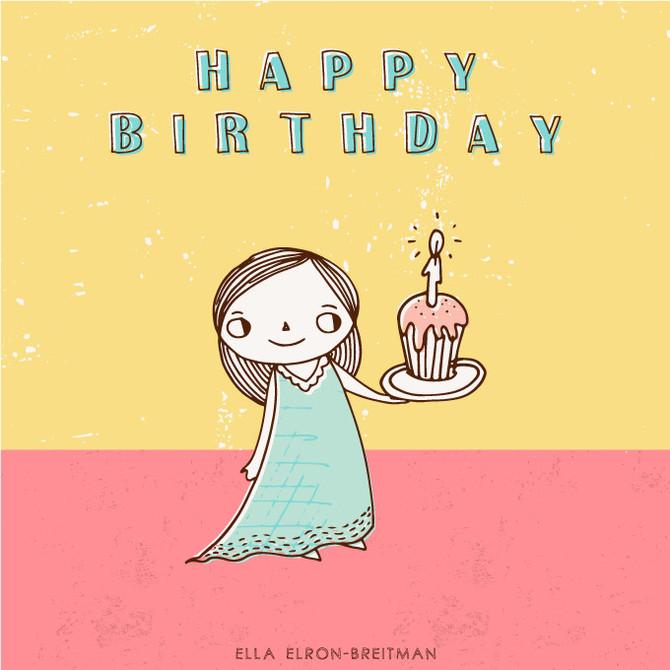 Little Girls Birthday Cards