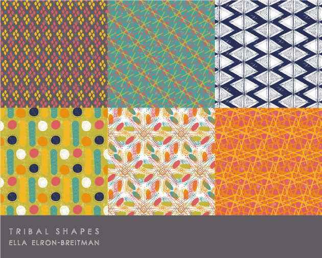 Tribal Shapes Pattern Collection part A