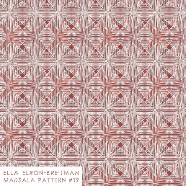 Marsala Pattern #19