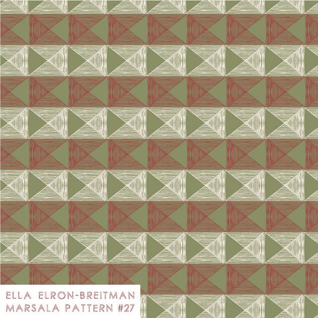 Marsala Pattern #27