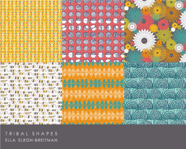 Tribal Shapes Pattern Collection part B