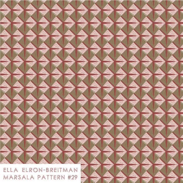 Marsala Pattern #29