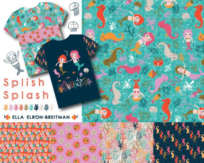 Splish Splash pattern collection