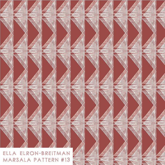 Marsala Pattern #13