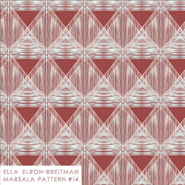Marsala Pattern #14