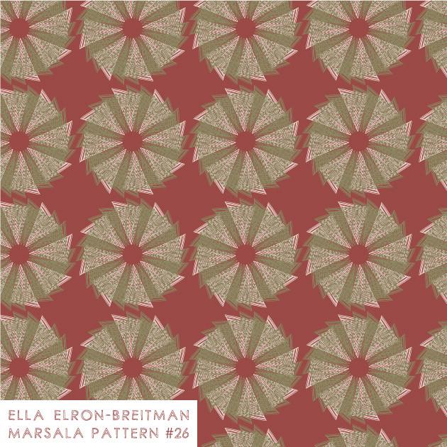 Marsala Pattern #26