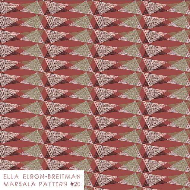 Marsala Pattern #20