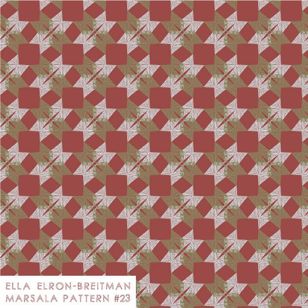 Marsala Pattern #23