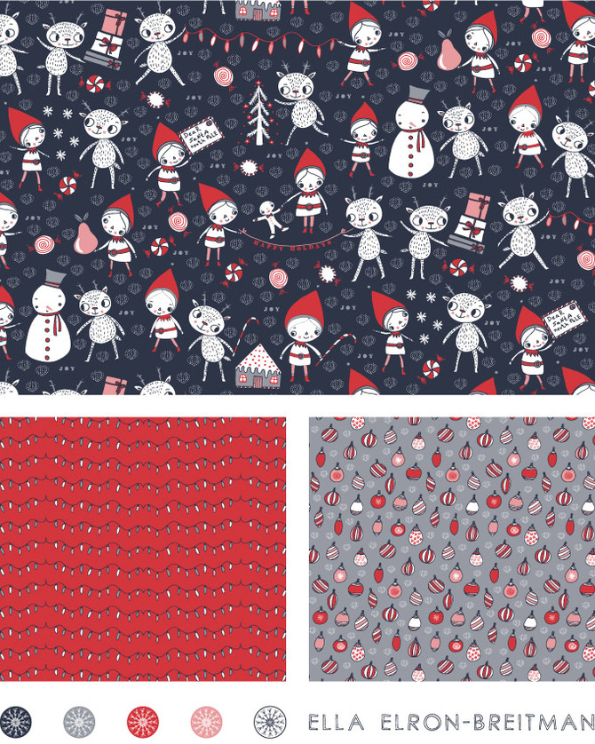 Christmas Joy Pattern Collection