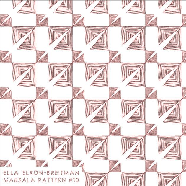 Marsala Pattern #10