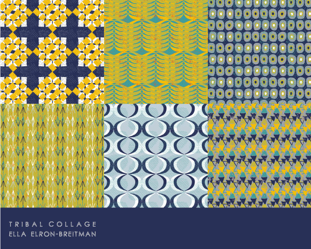 Tribal Collage Pattern Collection