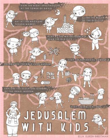 ELLA_ELRON-BREITMAN_JerusalemWithKidsMap