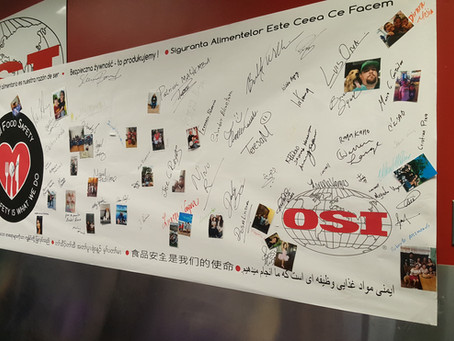 OSI Celebrates Another Successful Global Food Safety Week