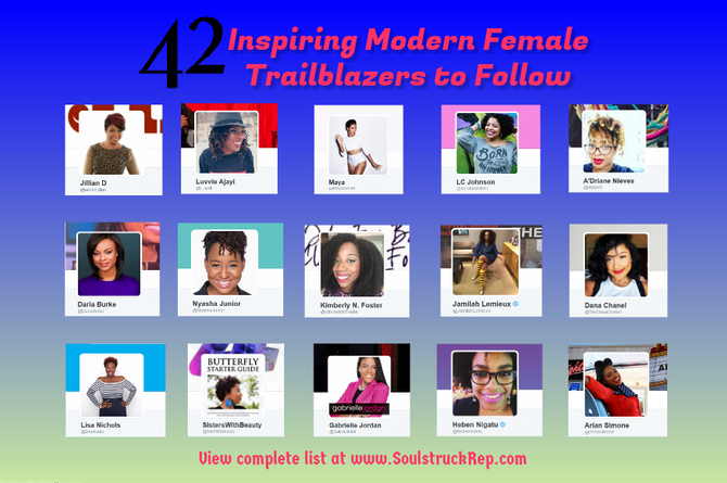 023. 42 Inspiring Modern Female Trailblazers to Follow on SM