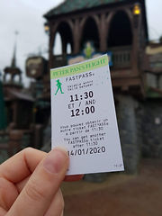 Peter Pan Fastpass Ticket | The Organised Explorers