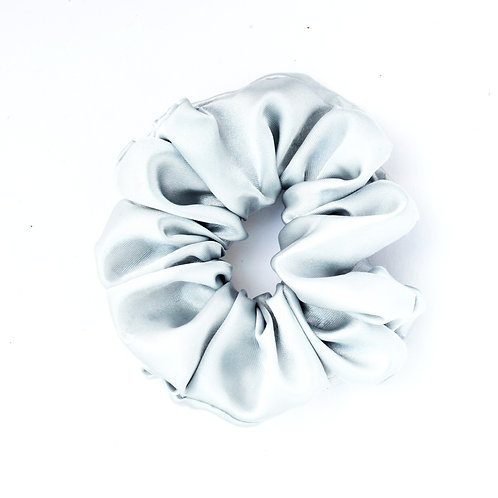 Satin gris perle