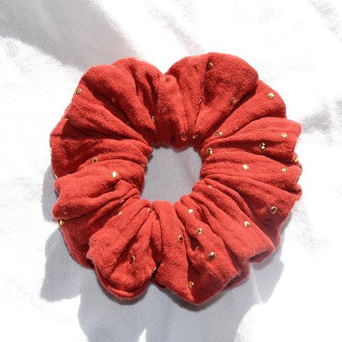 Double gaze rouge brique