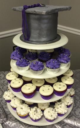 Graduation_Cake_cap_silver_purple_white.