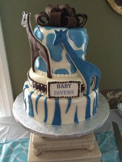 Babyshower_Cake_blue_brown_giraffe.JPG