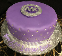 Woman_Birthday_Cake_purple_silver_bling_