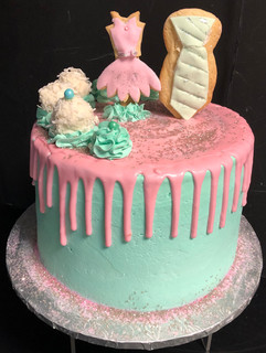 Woman_Birthday_Cake_pink_turquoise_drip_