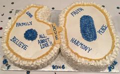 Number_Cake_60_religious_gold_white_blue
