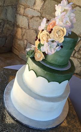 Wedding_Cake_pastel_rustic_flowers_green