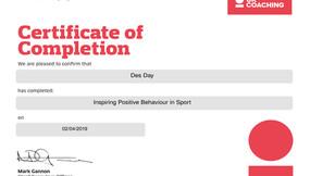 Inspiring Positive Behaviour In Sport