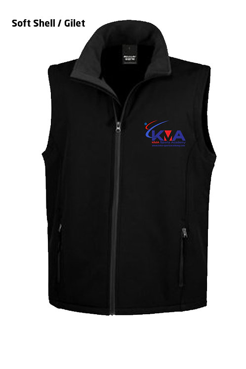 Soft Shell / Gilet - KMA Club branded (MALE)