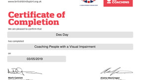 Coaching People With a Visual Impairment