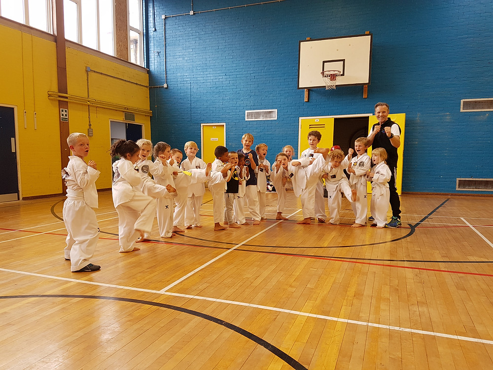 Some of the kids from KMA Bournemouth