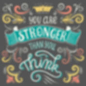 Teenager Taekwondo motto, You are stronger than you think.  KMA Sports Academy martial arts fitness academy in Bournemouth, Eastleigh and Winchester.