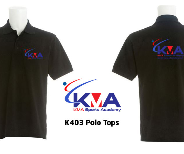 POLO tops K403 Black