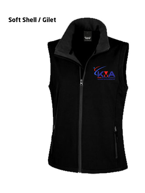 Soft Shell / Gilet - KMA Club branded (FEMALE)