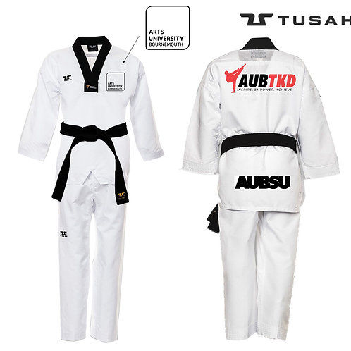 AUBTKD Branded Club World Taekwondo Uniform (Arts University Bournemouth)