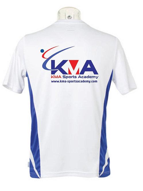 KMA Club Sports tee shirts