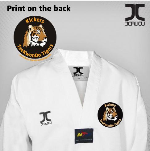 KMA Uniform top JC-4002 TIGERS