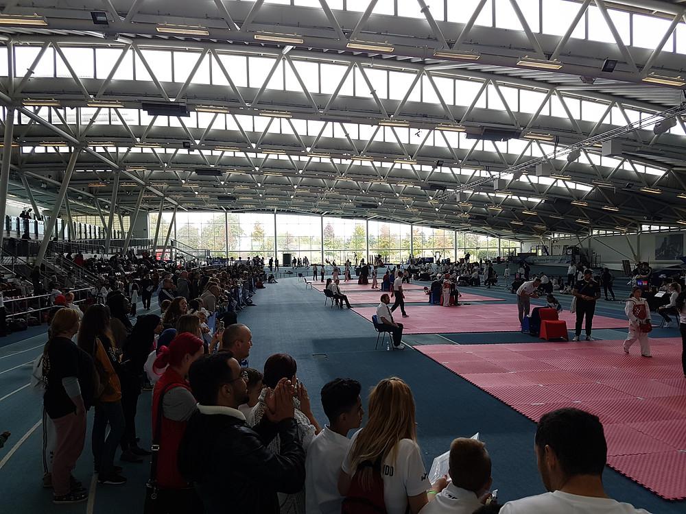 Lee Valley Athletics Centre.  UTF Taekwondo International