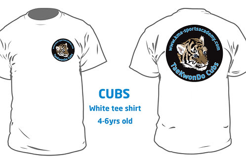 CUBS Tee Shirt 4yrs-6yrs