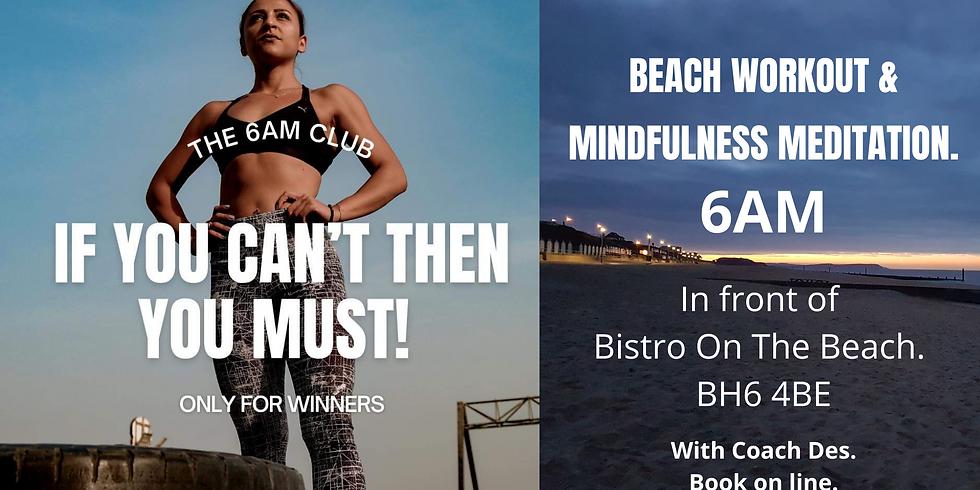 Beach Workout & Mindfulness