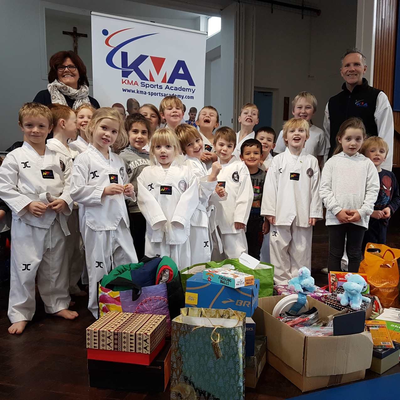 KMA Sports Academy Kids with a cause