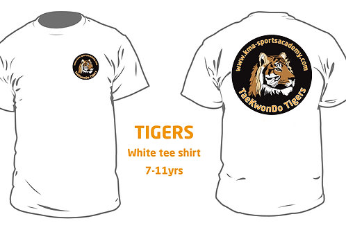 TIGERS Tee Shirt 7yrs-11yrs