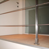 Balustrade inox