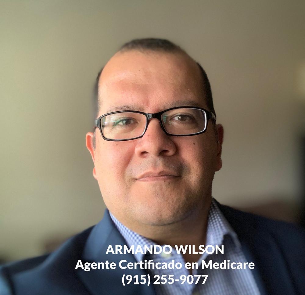 Armando Wilson agente Certificado en Medicare